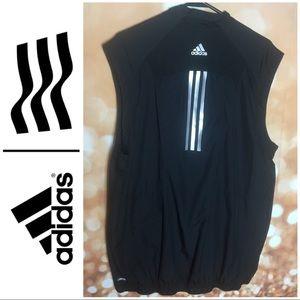 Adidas Climaproof Black Golf Vest Large